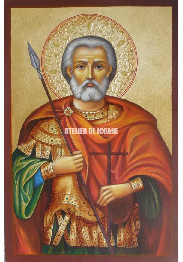Icoana cu Sfântul Mina - Icoane pictate