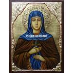 Icoana cu Sfânta Eugenia - Icoană manual pictată