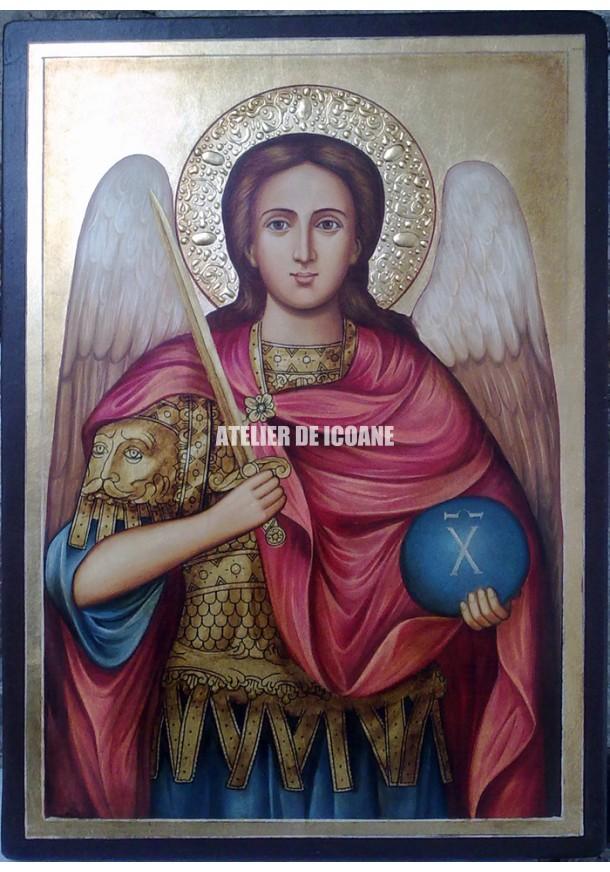 Icoana cu Sfântul Arhanghel Mihail - Icoane pictate