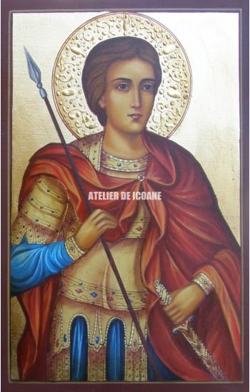 Icoana cu Sfântul Gheorghe - Reproducere