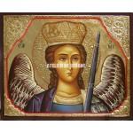 Icoana cu Sfântul Arhanghel Mihail - Icoană manual pictată