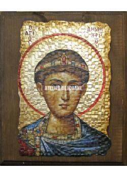 Icoana cu Sfântul Dumitru - Icoane pictate
